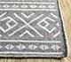 Jaipur Rugs - Flat Weave Wool and Viscose Beige and Brown SDWV-171 Area Rug Cornershot - RUG1099854