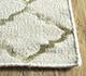 Jaipur Rugs - Flat Weave Wool and Viscose Beige and Brown SDWV-178 Area Rug Cornershot - RUG1099859