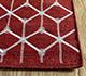 Jaipur Rugs - Flat Weave Wool and Viscose Red and Orange SDWV-179 Area Rug Cornershot - RUG1099860