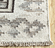 Jaipur Rugs - Flat Weave Wool and Viscose Ivory SDWV-19 Area Rug Cornershot - RUG1100316