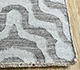 Jaipur Rugs - Flat Weave Wool and Viscose Grey and Black SDWV-20 Area Rug Cornershot - RUG1100317