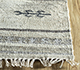 Jaipur Rugs - Flat Weave Wool and Viscose Beige and Brown SDWV-25 Area Rug Cornershot - RUG1099816