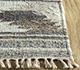 Jaipur Rugs - Flat Weave Wool and Viscose Beige and Brown SDWV-25 Area Rug Cornershot - RUG1099792