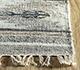 Jaipur Rugs - Flat Weave Wool and Viscose Ivory SDWV-25 Area Rug Cornershot - RUG1099886