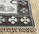 Jaipur Rugs - Flat Weave Wool and Viscose Ivory SDWV-26 Area Rug Cornershot - RUG1099795