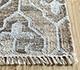 Jaipur Rugs - Flat Weave Wool and Viscose Ivory SDWV-28 Area Rug Cornershot - RUG1100323