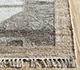 Jaipur Rugs - Flat Weave Wool and Viscose Ivory SDWV-31 Area Rug Cornershot - RUG1100326