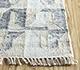 Jaipur Rugs - Flat Weave Wool and Viscose Beige and Brown SDWV-34 Area Rug Cornershot - RUG1100329