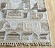 Jaipur Rugs - Flat Weave Wool and Viscose Beige and Brown SDWV-34 Area Rug Cornershot - RUG1100330