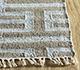 Jaipur Rugs - Flat Weave Wool and Viscose Beige and Brown SDWV-37 Area Rug Cornershot - RUG1100334