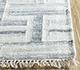 Jaipur Rugs - Flat Weave Wool and Viscose Ivory SDWV-37 Area Rug Cornershot - RUG1099871