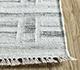 Jaipur Rugs - Flat Weaves Wool and Viscose Ivory SDWV-37 Area Rug Cornershot - RUG1100335