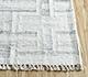 Jaipur Rugs - Flat Weave Wool and Viscose Ivory SDWV-37 Area Rug Cornershot - RUG1099872