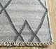 Jaipur Rugs - Flat Weave Wool and Viscose Blue SDWV-42 Area Rug Cornershot - RUG1100339