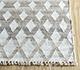 Jaipur Rugs - Flat Weave Wool and Viscose Ivory SDWV-48 Area Rug Cornershot - RUG1100346