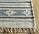 Jaipur Rugs - Flat Weave Wool and Viscose Ivory SDWV-49 Area Rug Cornershot - RUG1100347