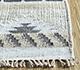 Jaipur Rugs - Flat Weaves Wool and Viscose Grey and Black SDWV-52 Area Rug Cornershot - RUG1100351