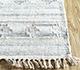 Jaipur Rugs - Flat Weave Wool and Viscose Ivory SDWV-56 Area Rug Cornershot - RUG1099889