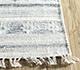 Jaipur Rugs - Flat Weave Wool and Viscose Ivory SDWV-56 Area Rug Cornershot - RUG1099890