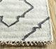 Jaipur Rugs - Flat Weave Wool and Viscose Ivory SDWV-62 Area Rug Cornershot - RUG1100360