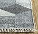 Jaipur Rugs - Flat Weave Wool and Viscose Blue SDWV-74 Area Rug Cornershot - RUG1100371