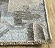 Jaipur Rugs - Flat Weave Wool and Viscose Grey and Black SDWV-77 Area Rug Cornershot - RUG1100375