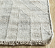 Jaipur Rugs - Flat Weave Wool and Viscose Ivory SDWV-88 Area Rug Cornershot - RUG1099879