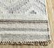 Jaipur Rugs - Flat Weave Wool and Viscose Beige and Brown SDWV-92 Area Rug Cornershot - RUG1100384