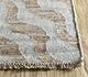 Jaipur Rugs - Flat Weave Wool and Viscose Beige and Brown SDWV-93 Area Rug Cornershot - RUG1100385