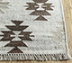 Jaipur Rugs - Flat Weave Wool and Viscose Ivory SDWV-98 Area Rug Cornershot - RUG1100388