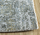 Jaipur Rugs - Hand Loom Viscose Grey and Black SHPV-98 Area Rug Cornershot - RUG1099920