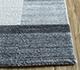 Jaipur Rugs - Hand Loom Wool and Viscose Blue SHWV-16 Area Rug Cornershot - RUG1099961