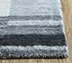 Jaipur Rugs - Hand Loom Wool and Viscose Blue SHWV-19 Area Rug Cornershot - RUG1100064