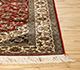 Jaipur Rugs - Hand Knotted Silk Red and Orange SKPS-47 Area Rug Cornershot - RUG1093839