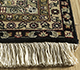 Jaipur Rugs - Hand Knotted Wool Grey and Black SKWL-22 Area Rug Cornershot - RUG1097880