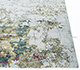 Jaipur Rugs - Hand Knotted Wool and Bamboo Silk Blue SRB-702 Area Rug Cornershot - RUG1097212