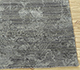 Jaipur Rugs - Hand Knotted Wool and Bamboo Silk Grey and Black SRB-702 Area Rug Cornershot - RUG1089829