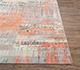 Jaipur Rugs - Hand Knotted Wool and Bamboo Silk Red and Orange SRB-709 Area Rug Cornershot - RUG1074545