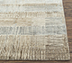 Jaipur Rugs - Hand Knotted Wool and Bamboo Silk Ivory SRB-715 Area Rug Cornershot - RUG1074108