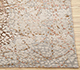 Jaipur Rugs - Hand Knotted Wool and Bamboo Silk Ivory SRB-729 Area Rug Cornershot - RUG1097222
