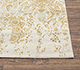 Jaipur Rugs - Hand Knotted Wool and Bamboo Silk Ivory SRB-774 Area Rug Cornershot - RUG1077701