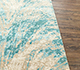 Jaipur Rugs - Hand Knotted Wool and Bamboo Silk Blue SRB-9001 Area Rug Cornershot - RUG1080655