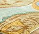 Jaipur Rugs - Hand Tufted Wool and Viscose Blue TAQ-113 Area Rug Cornershot - RUG1043718