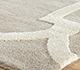 Jaipur Rugs - Hand Tufted Wool and Viscose Grey and Black TAQ-193 Area Rug Cornershot - RUG1037055