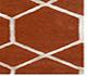 Jaipur Rugs - Hand Tufted Wool and Viscose Red and Orange TAQ-195 Area Rug Cornershot - RUG1031145