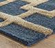 Jaipur Rugs - Hand Tufted Wool and Viscose Blue TAQ-229 Area Rug Cornershot - RUG1106856
