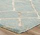Jaipur Rugs - Hand Tufted Wool and Viscose Blue TAQ-4004 Area Rug Cornershot - RUG1071350