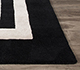 Jaipur Rugs - Hand Tufted Wool and Viscose Grey and Black TAQ-6054 Area Rug Cornershot - RUG1060259