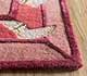 Jaipur Rugs - Hand Tufted Wool and Viscose Red and Orange TOP-107 Area Rug Cornershot - RUG1095446
