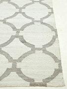 Jaipur Rugs - Flat Weave Viscose Grey and Black TX-515 Area Rug Cornershot - RUG1056011